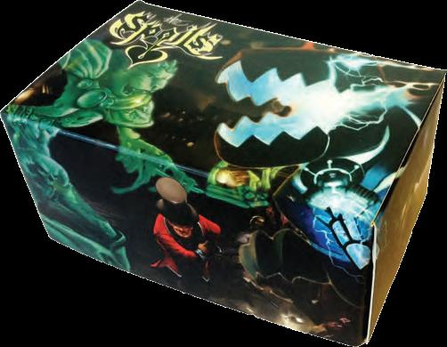 The Spoils Tcg: New Player Pack, The Basic Box Of Awesomeness Splatters Box Front