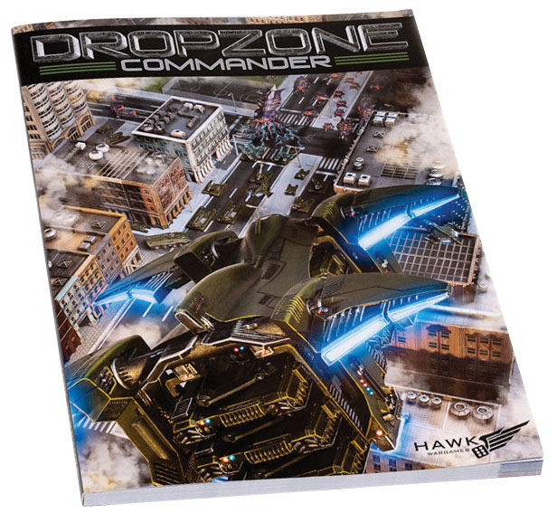 Dropzone Commander Core Rulebook Version 1.1 Box Front