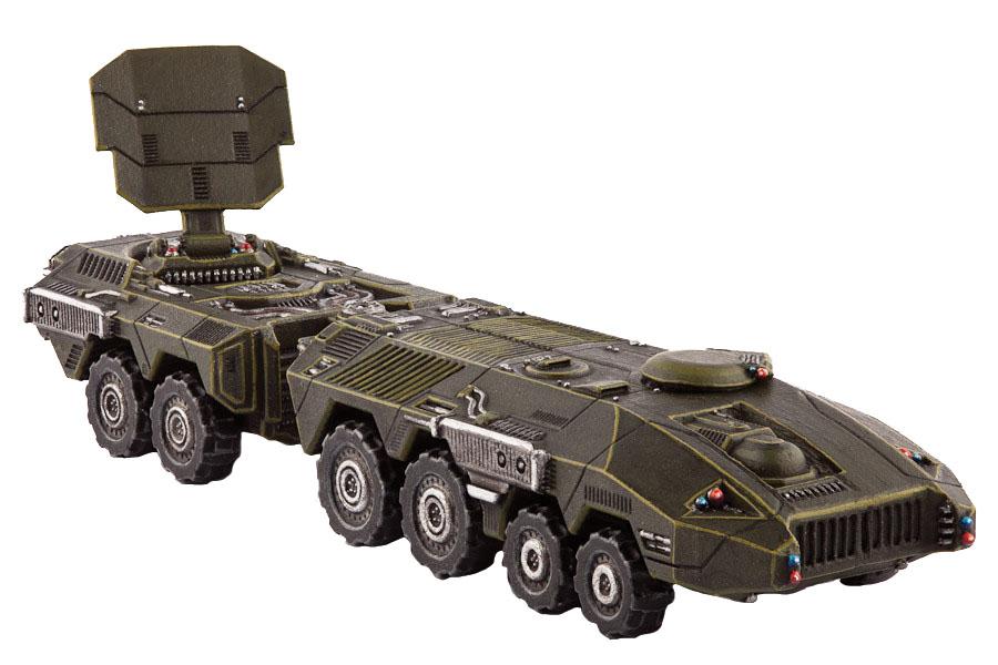 Dropzone Commander: Ucm Kodiak Command Vehicle Box Front