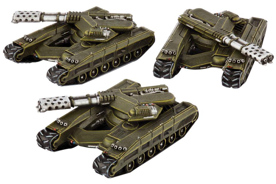 Dropzone Commander: Ucm Fireblade Box Front