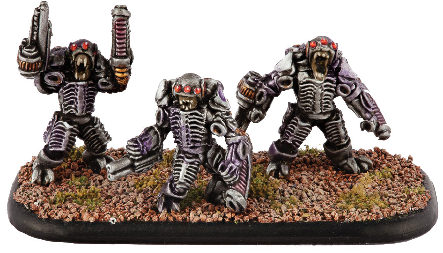 Dropzone Commander: Scourge Destroyers Box Front