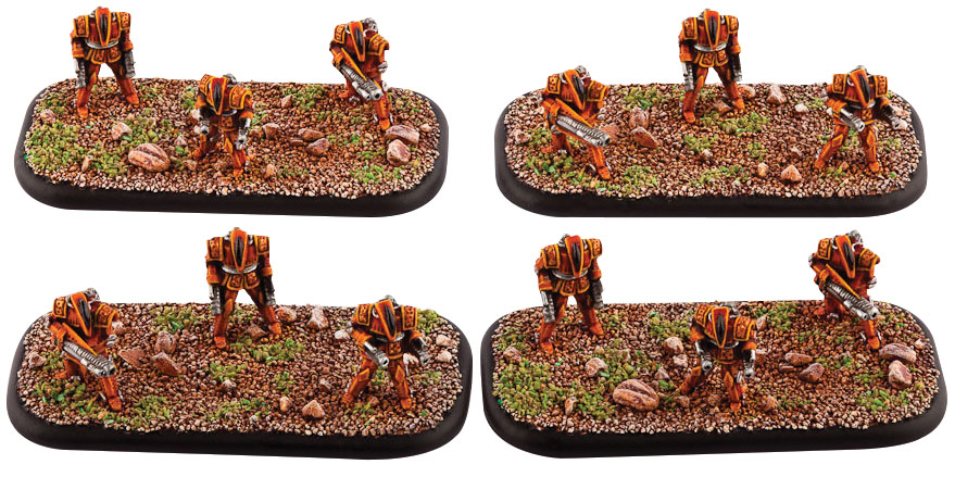 Dropzone Commander: Shaltari Braves Box Front