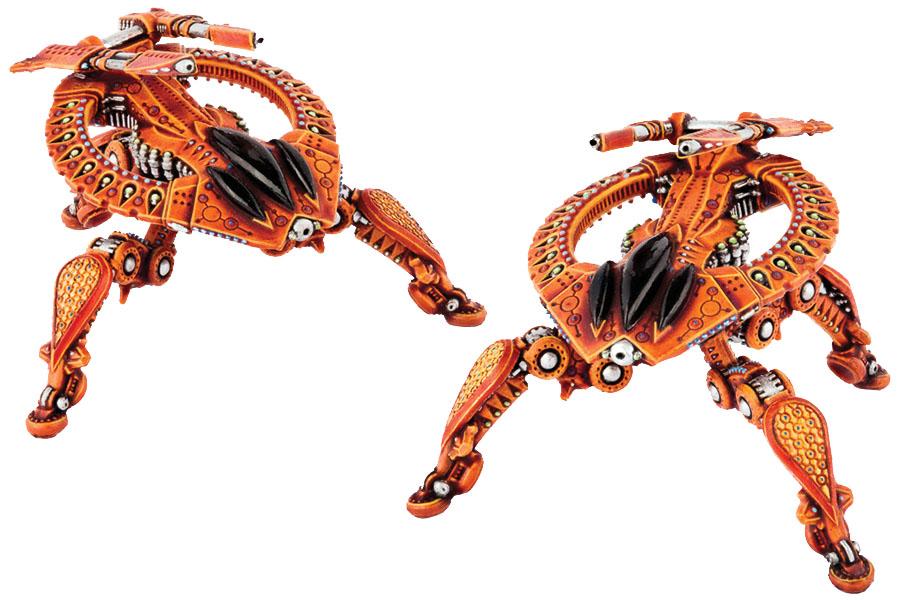 Dropzone Commander: Shaltari Birdeater Battle Strider Box Front