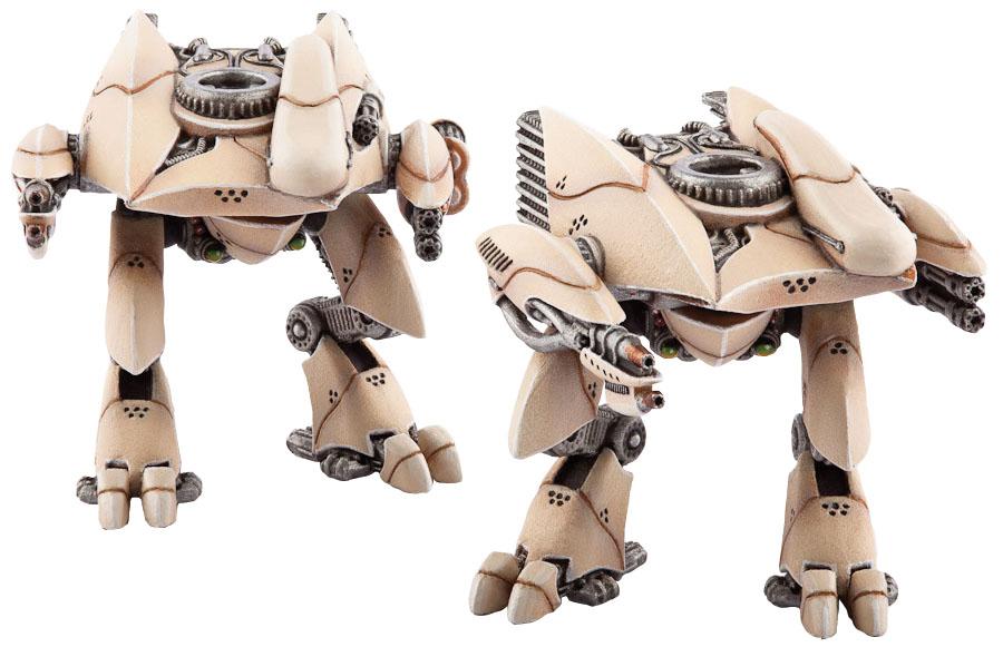 Dropzone Commander: Phr Menchit Battle Walkers Box Front