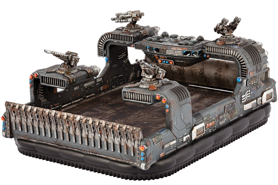 Dropzone Commander: Resistance Leviathan Heavy Hovercraft Box Front