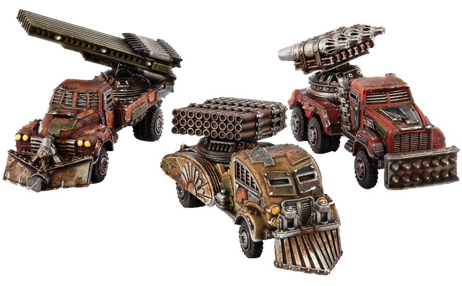 Dropzone Commander: Resistance Storm Wagon Box Front