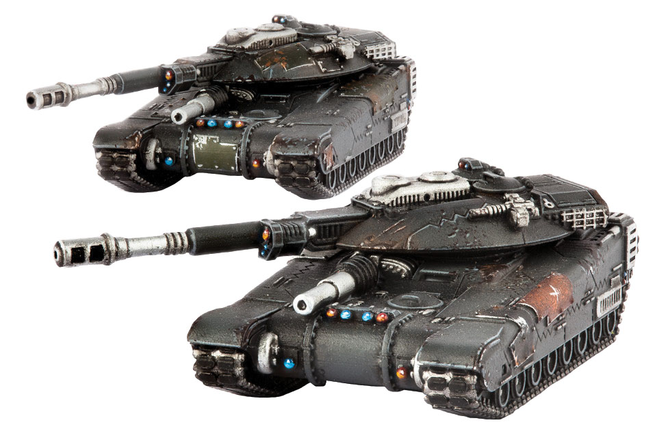 Dropzone Commander: Resistance Hannibal Mbt Box Front