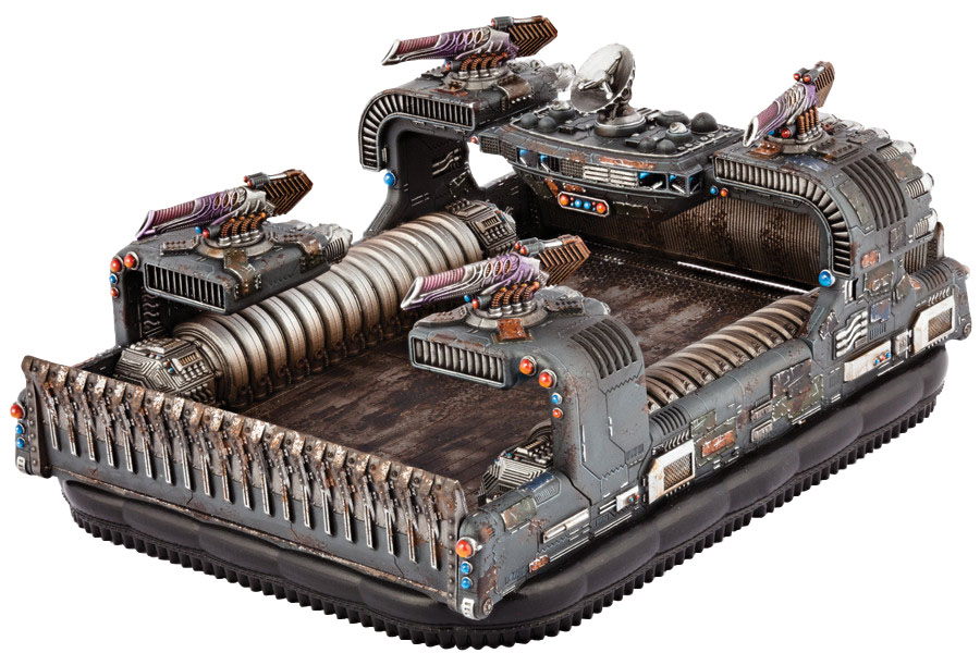 Dropzone Commander: Resistance Thunderstorm Command Hovercraft Box Front