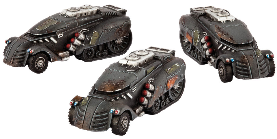 Dropzone Commander: Resistance Jackson Apc Box Front