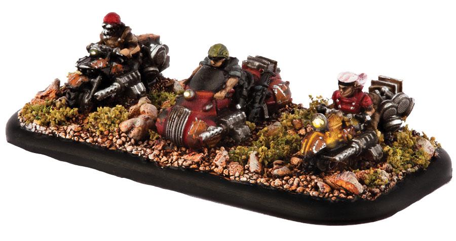 Dropzone Commander: Resistance Freeriders Box Front