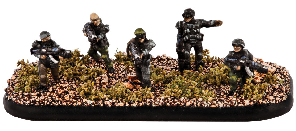 Dropzone Commander: Resistance Resistance Fighters Box Front