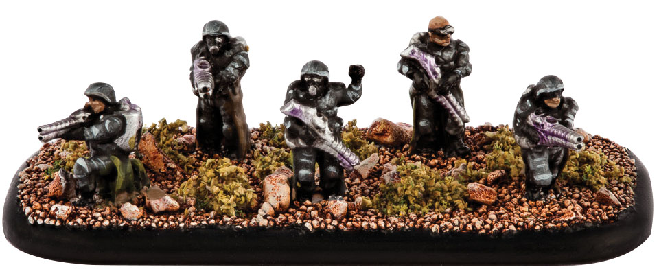 Dropzone Commander: Resistance Occupation Veterans Box Front
