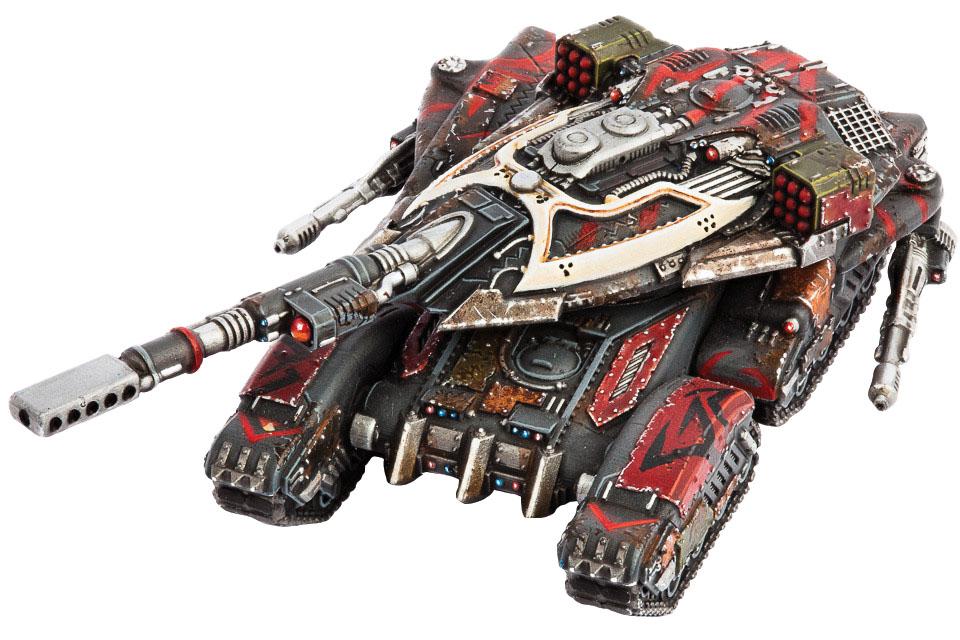 Dropzone Commander: Resistance Salakahn, Tyrant Of Atlantia Box Front