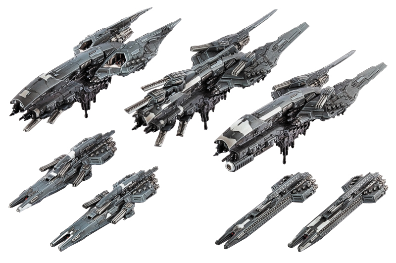 Dropfleet Commander: Ucm Starter Fleet Game Box