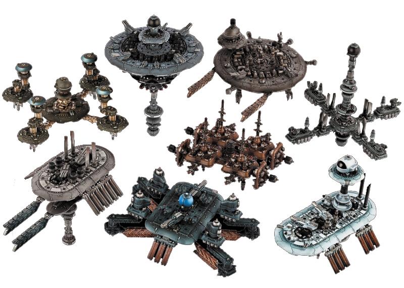 Dropfleet Commander: Modular Space Station Pack Box Front