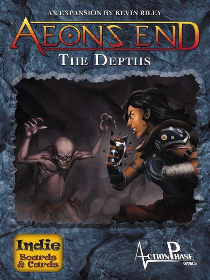 Aeon`s End Dbg: The Depths Expansion Box Front