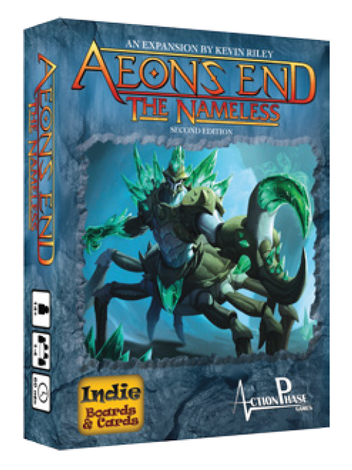 Aeon`s End Dbg: The Nameless Expansion Box Front