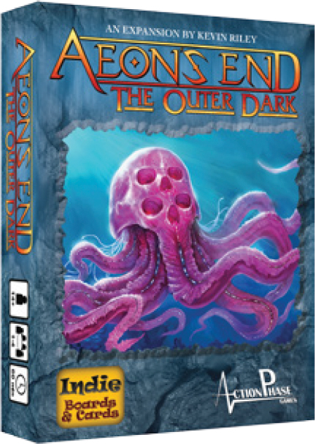 Aeon`s End Dbg: The Outer Dark Expansion Box Front