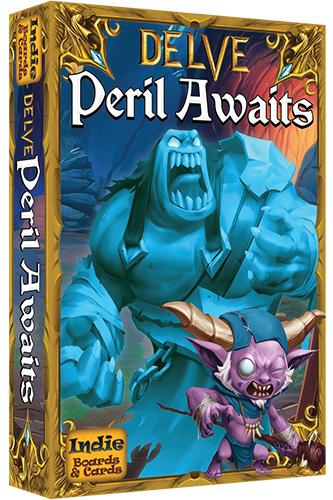 Delve: Peril Awaits Expansion Box Front