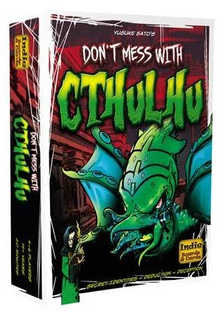 Don`t Mess With Cthulhu Box Front