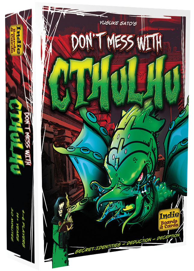 Don`t Mess With Cthulhu Deluxe Box Front