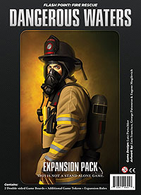 Flash Point Fire Rescue: Dangerous Waters Expansion Box Front