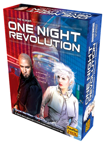 One Night Revolution Box Front