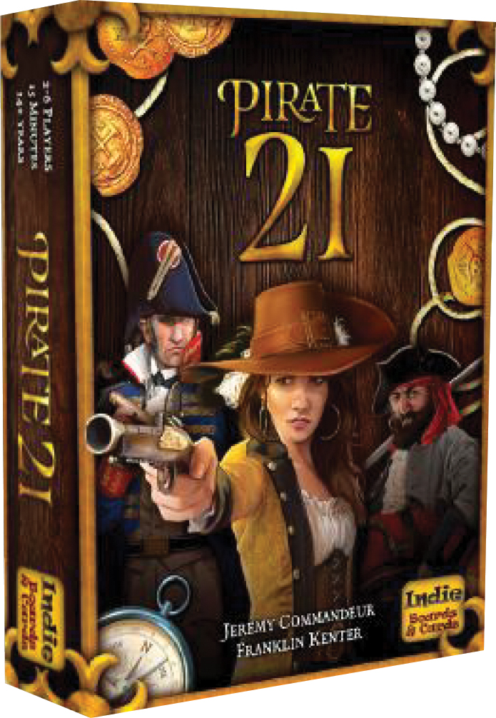 Pirate 21 Box Front