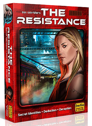 The Resistance (3rd Edition) Box Front
