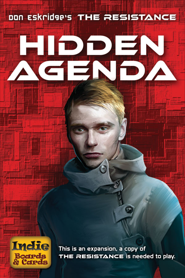 The Resistance: Hidden Agenda Expansion Box Front