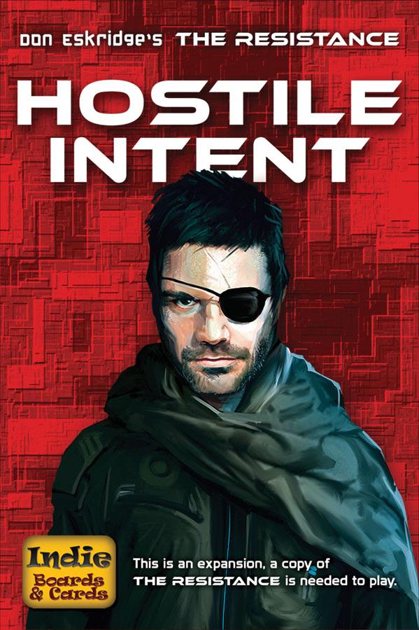 The Resistance: Hostile Intent Expansion Box Front