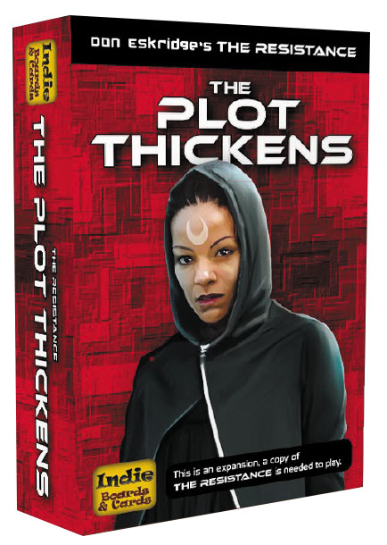 The Resistance: The Plot Thickens Expansion Box Front