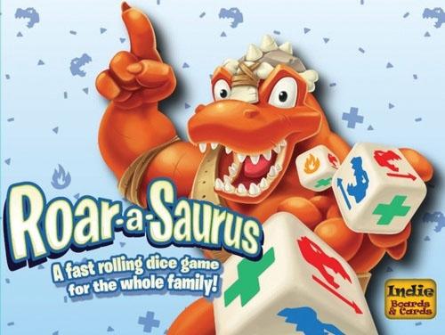Roar-a-saurus Box Front