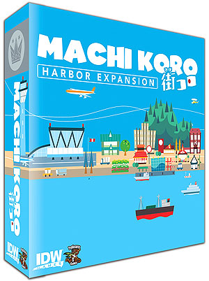 Machi Koro: The Harbor Expansion Box Front