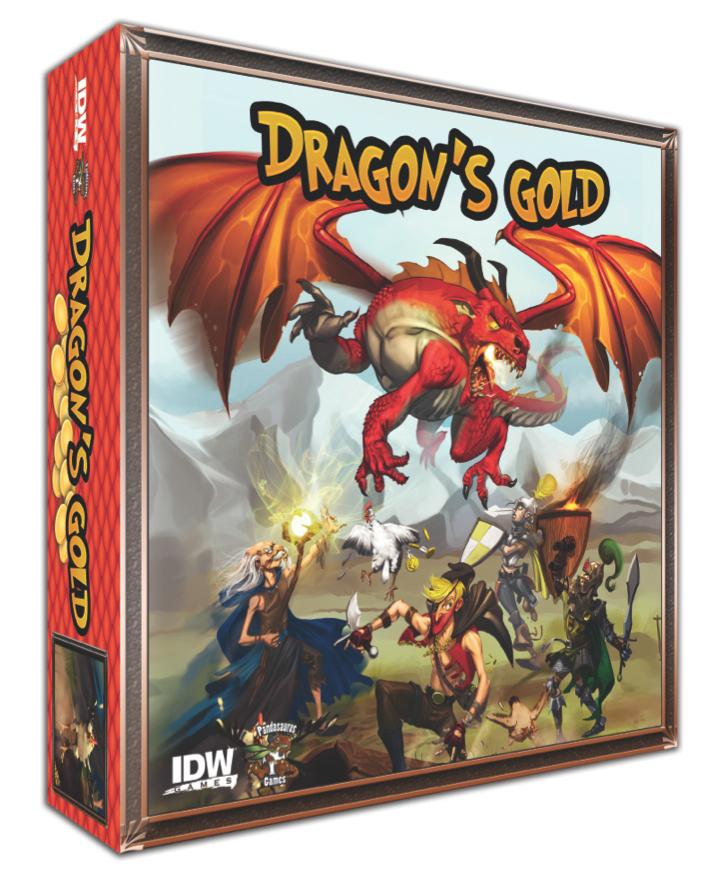 Dragon`s Gold Box Front