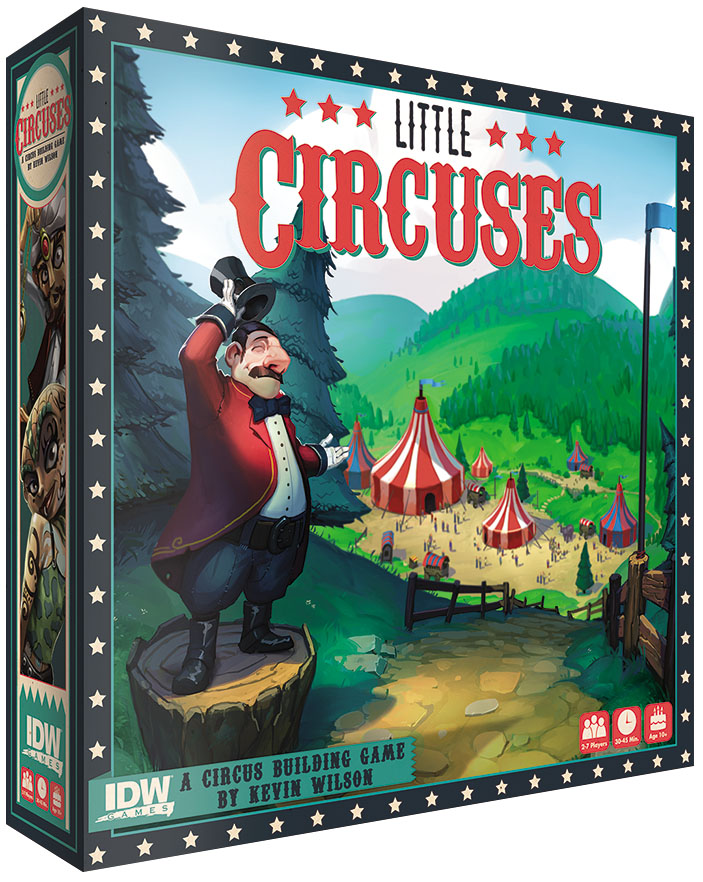 Little Circuses: The Biggest Little Spectacle In The World Box Front