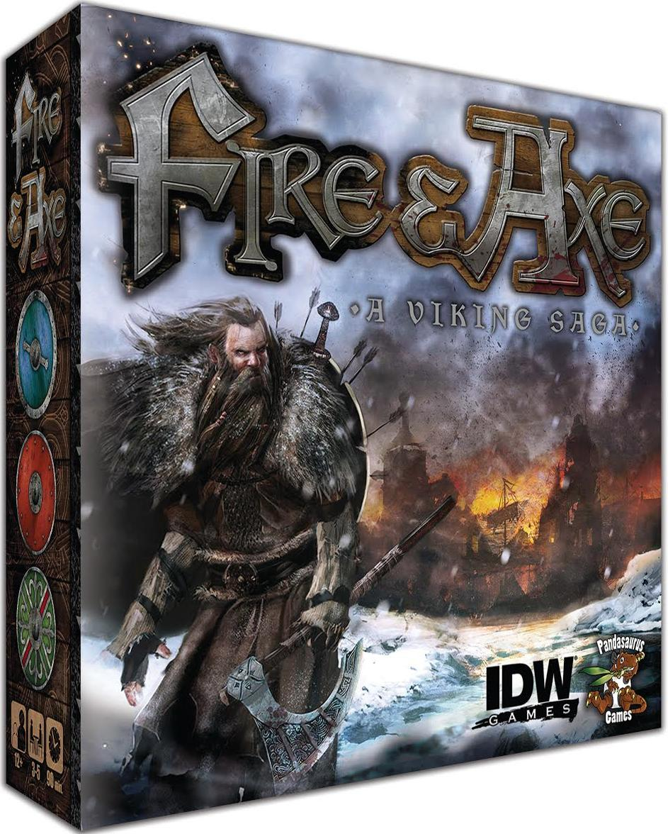 Fire & Axe: A Viking Saga Box Front