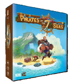 Pirates Of The 7 Seas Box Front