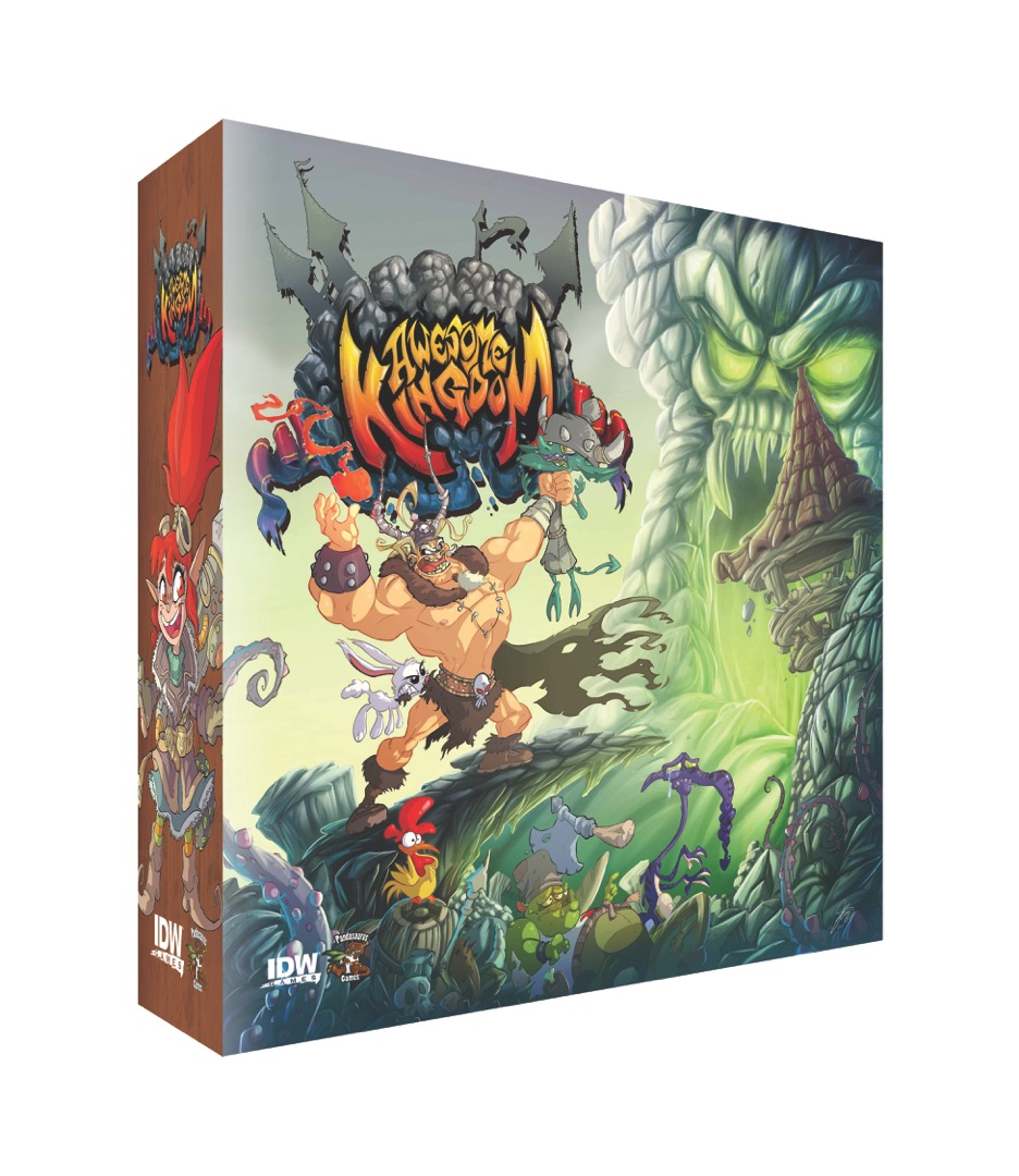 Awesome Kingdom: Tower Of Hateskull Box Front