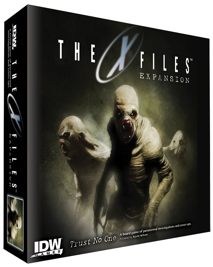 X Files Expansion Box Front