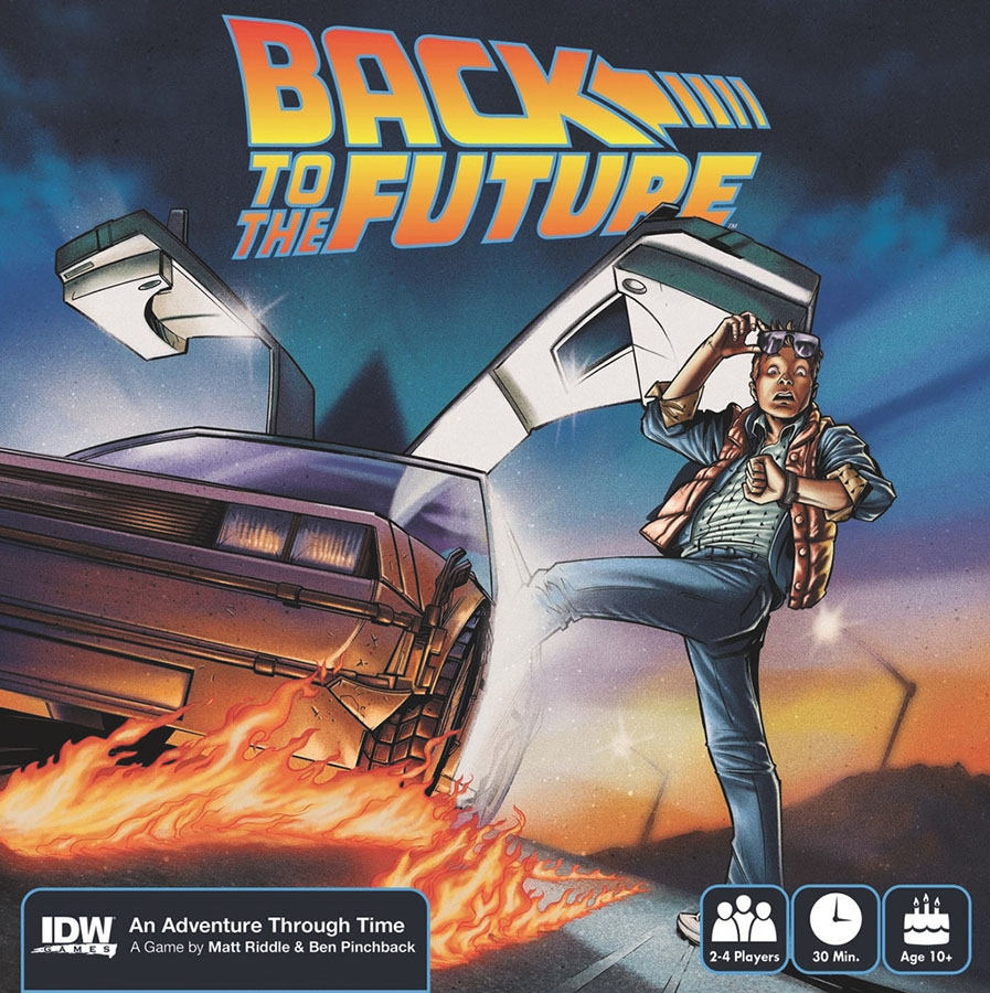 Back To The Future: An Adventure Through Time Box Front