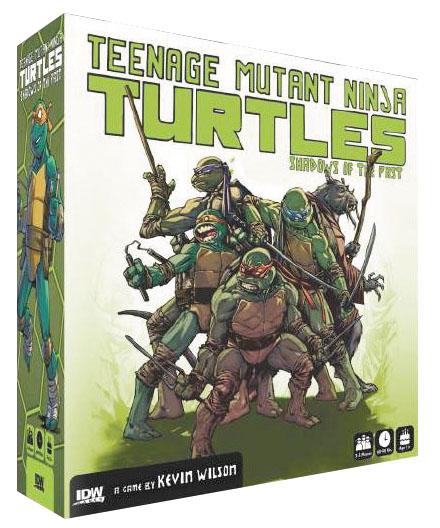 Teenage Mutant Ninja Turtles: Shadows Of The Past Box Front