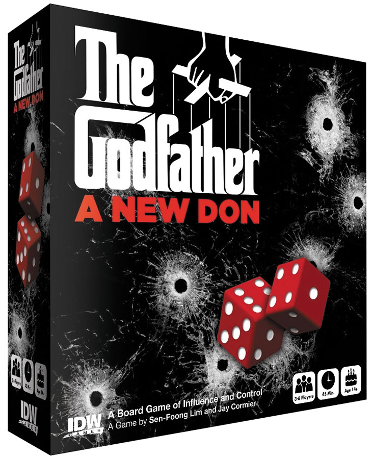 The Godfather: A New Don Box Front