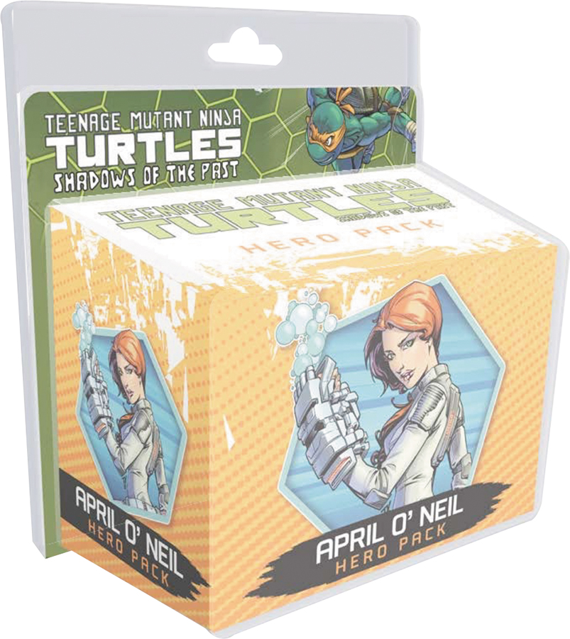 Teenage Mutant Ninja Turtles: Shadows Of The Past, April O`neil Hero Pack Expansion Box Front