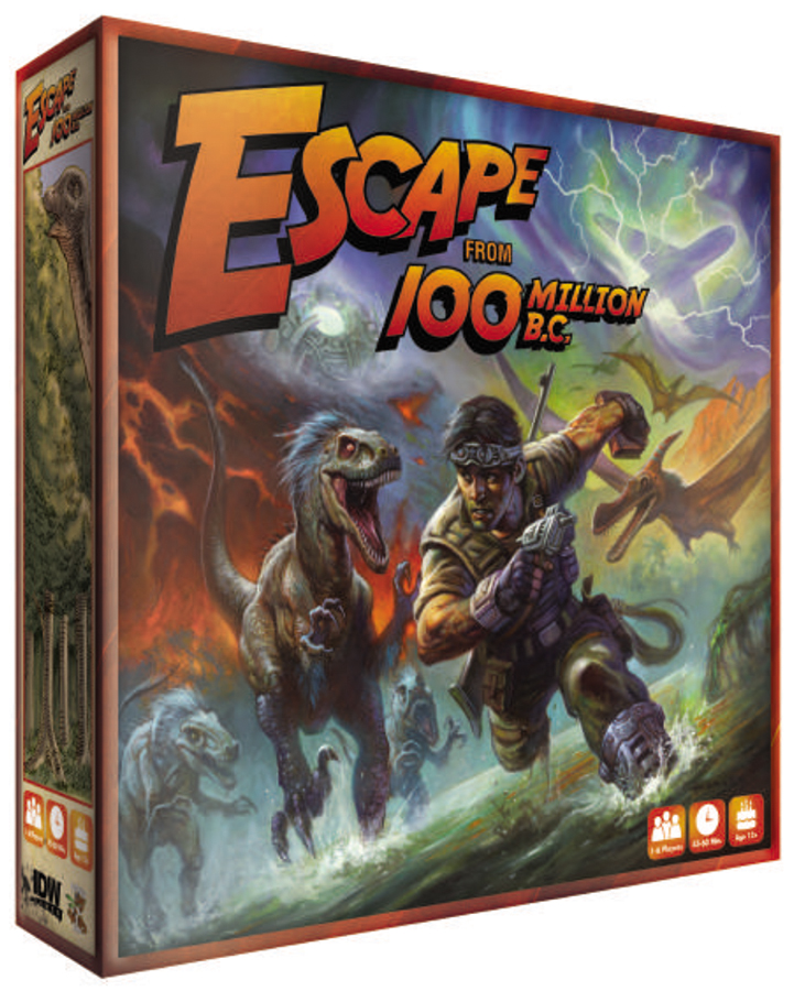 Escape From 100 Million B.c. Box Front