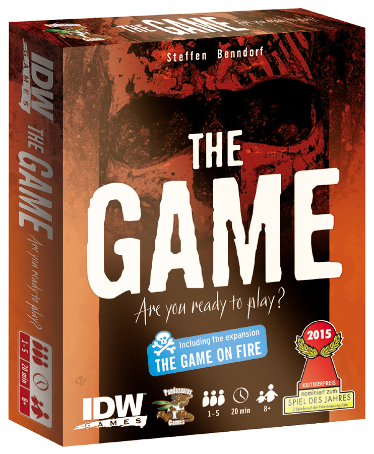The Game: On Fire Box Front