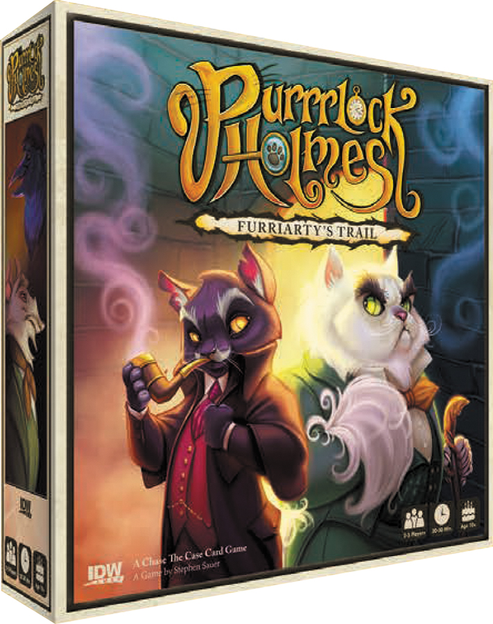 Purrrlock Holmes: Furriarty`s Trail Box Front