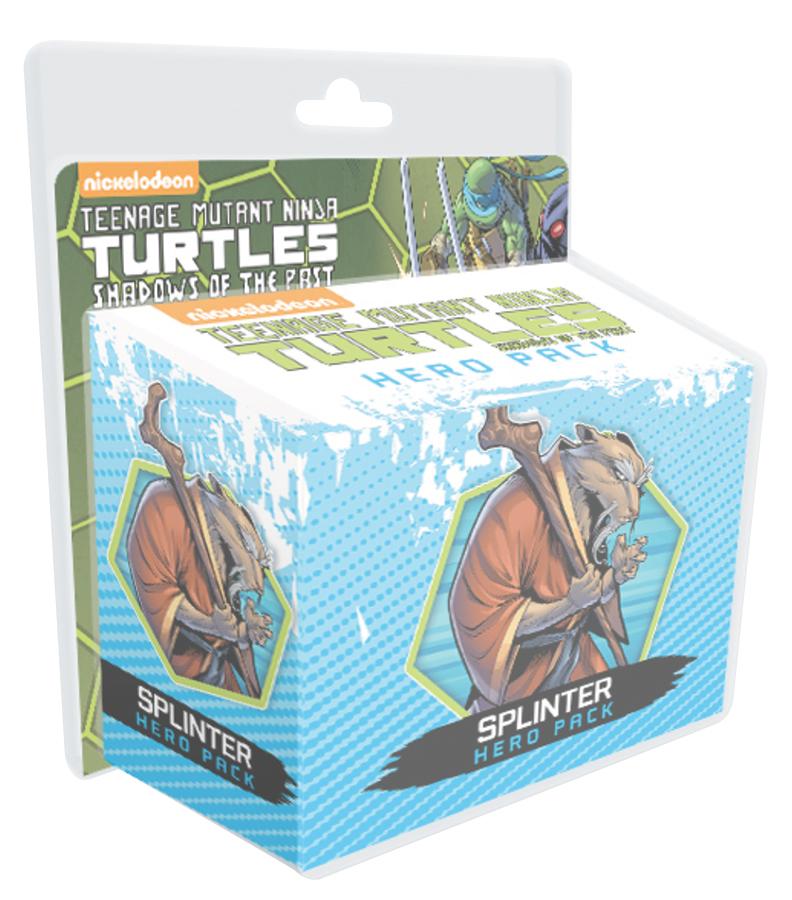 Teenage Mutant Ninja Turtles: Shadows Of The Past, Hero Pack Splinter Box Front