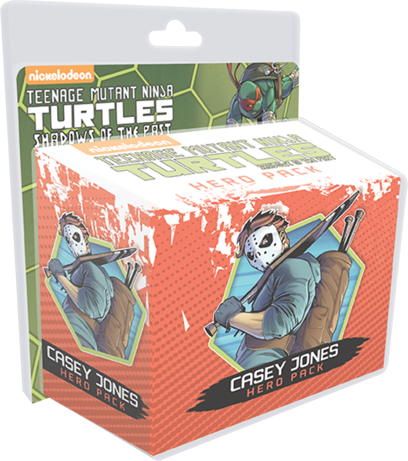 Teenage Mutant Ninja Turtles: Shadows Of The Past, Casey Jones Hero Pack Expansion Box Front