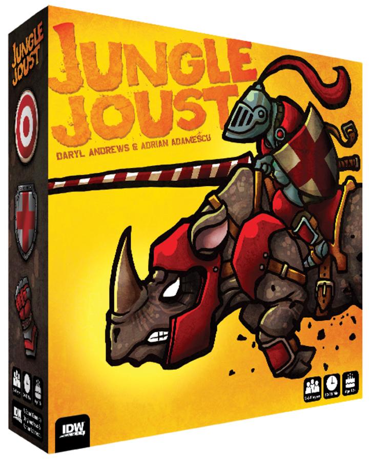 Jungle Joust Box Front